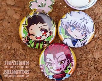 Hunter X Hunter button set (3)
