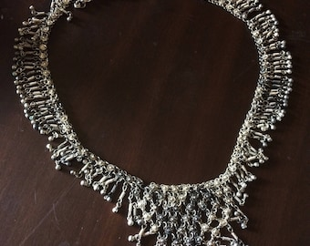 Silver Plated Belly Dancing Set