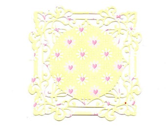 247 - Cut lace to your cards or scrapbooking