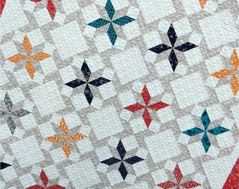 SALE 10% Off - DESERT SKY Quilt Pattern by Sherri McConnell uses Valley collection