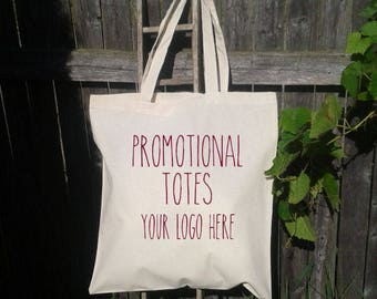 50 Promotional Tote Bags, Business Tote Bag, Shopping Bags, Reusable Tote Bags - Wholesale Tote Bags