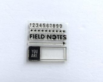 Studio Calico Field Notes Stamp Set