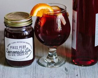 Sangria - Spiced Cider - Stocking Stuffer - Gift Basket - Sangria Wedding - Wine Lovers - Pikes Peak Lemonade - Colorado Gifts - Red Wine