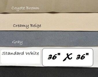 Neoprene Rubber Fabric, Shoe Soling Sheet, Waterproof Rubber Fabric, ToughTek Non Slip Fabric, Shoe Making Supplies, 36 X 36