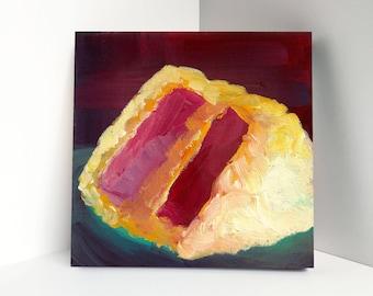 Red Velvet Cake 8x8 Art Print