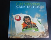 Cat Stevens Greatest Hits Vinyl Record LP SP 4519 ( With Poster ) A&M Records 1972