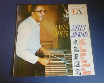 Bags' Opus Milt Jackson Vinyl Record LP UAS 5022 United Artists 1959