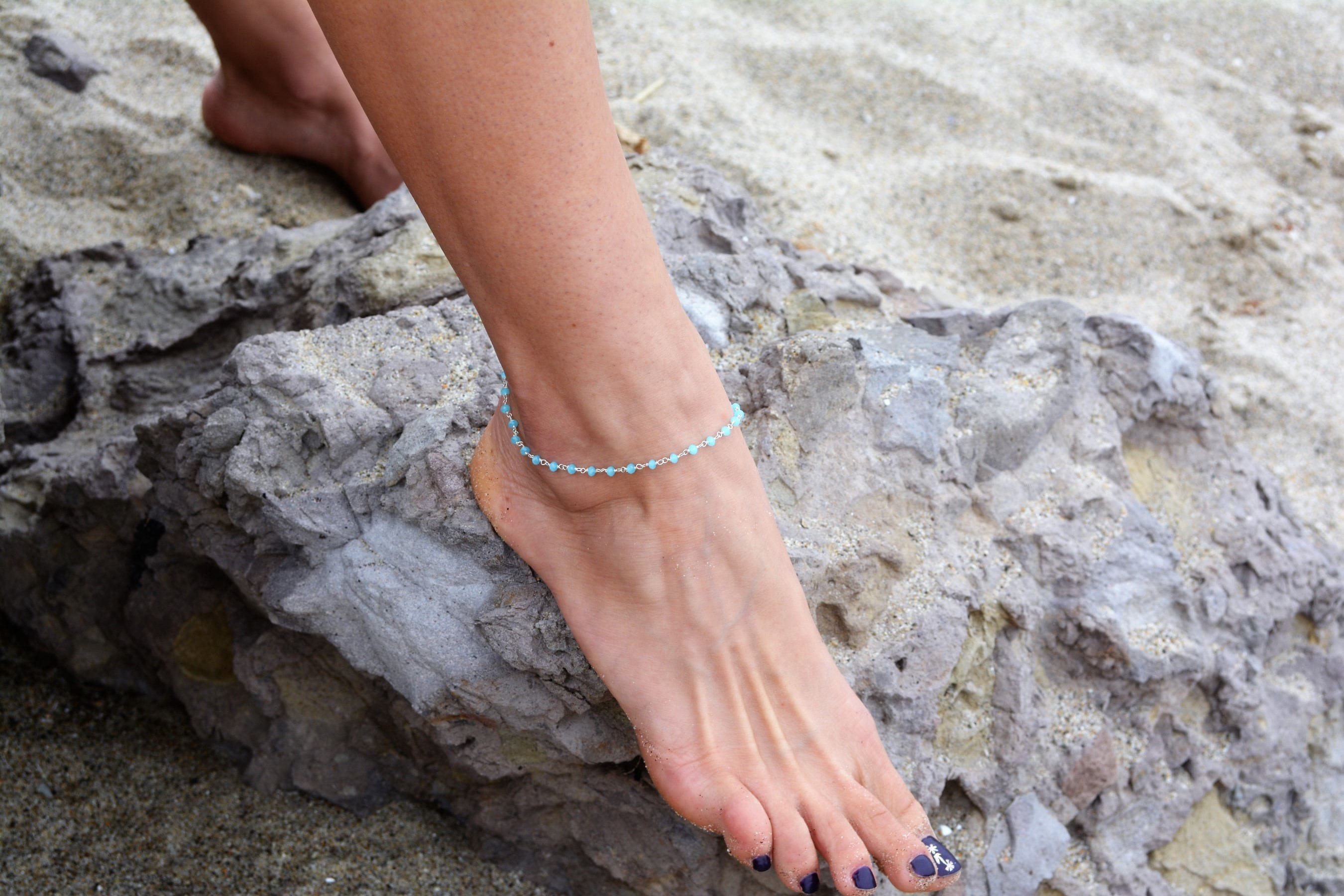 simple beach dangle ankle star bracelets anklet il bracelet listing fullxfull summer thin