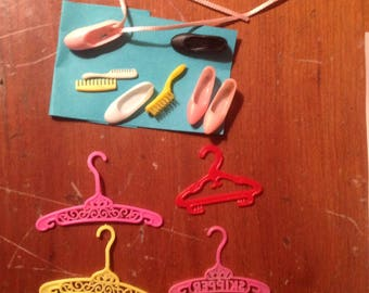 Skipper doll  hangers and shoes