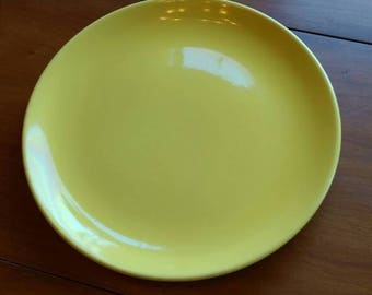 Large 12 inch Yellow Gladding McBean 'El Patio' Platter Chop Plate