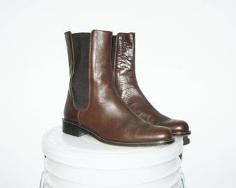 Size US 7.5 / Anne Klein, Italian High-Top Boots