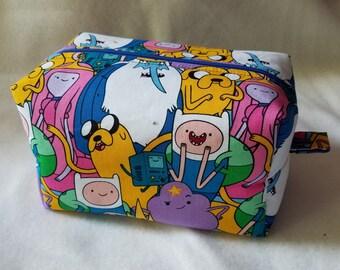 Adventure Time Box Zipper Pouch