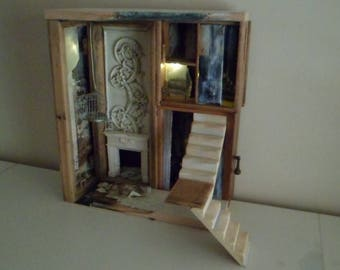 Assemblage Miniature House Once Upon A Time