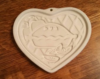 Pampered Chef Cookie Mold Welcome Home Heart