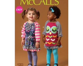 NEW Infant Dress Pattern - McCall's M7007