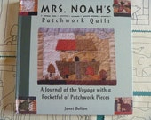 Mrs. Noah's Patchwork Quilt Book with Fabric Templates FREE SHIPPING