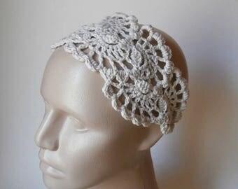 15% ON SALE Head Band - Crochet Lace  Hair Wrap - Crochet Lace Headband - Hair Fashion Accessories