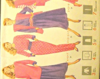 Butterick 4225 Jacket, Vest, Top, Skirt, Pants, and Sash Pattern, Sizes XS, S, M, Factory Folded, Uncut