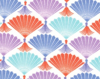 27103-11 Harmony Fans, Good Fortune by Kate Spain for Moda