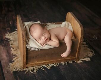 Newborn crib prop, baby bed prop, newborn crate, photography prop, newborn wooden bed, photo prop,wooden baby bed,bed prop,newborn crate