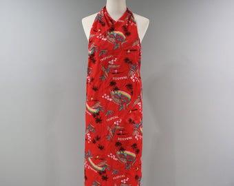 Vintage Hilo Hattie Pareau NWT Dress Womens One Size 80s