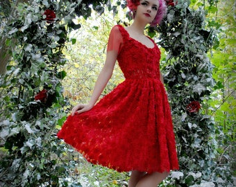Little Riding Hood Dress - Size 36-46 to order