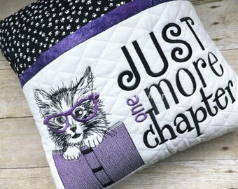 Cat Reading Pillow