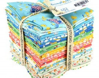 Animal Quackers, 34 fat quarter bundle, a Kim's Cause Collection for Maywood Studios