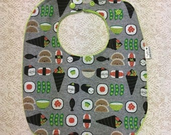 Sushi Drool Feeding Bib
