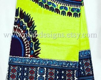 Dashiki Java Soft Angelina Wax /Dashiki/ African Prints/Fabric/Crafts/African Clothing/Dashiki/Ankara /Java Soft Dashiki Holland per yard