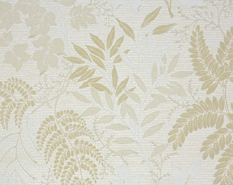 View Flock by RetroWal...1970s Wallpaper Green Leaves
