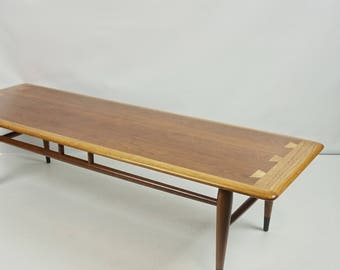 Good Lane Acclaim Coffee Table / Mid Century Modern Table / Mid Century Coffee  Table / Lane