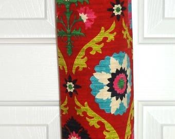 Plastic Bag Holder Grocery Bag Holder Storage Kitchen Bag Storage Red Black Floral
