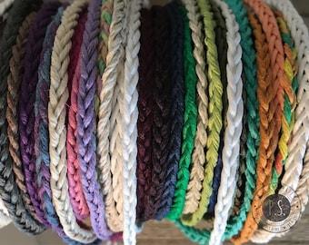Simple Braid Hemp Bracelets