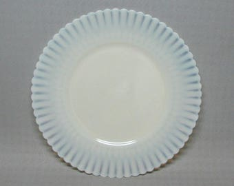 Vintage Macbeth Evans Cremax Petalware salad plates , a set of 6