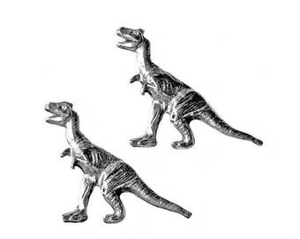 Limited Time Offer Dinosaur Cufflinks - Gifts for Men - Anniversary Gift - Handmade - Gift Box Included