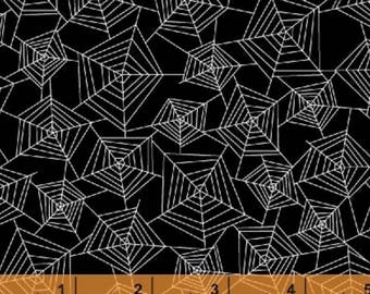 Eat Drink and Be Scary - Spider Webs by Whistler Studios from Windham Fabrics