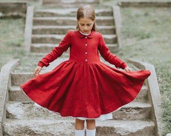 Red Dress For Girls, Disney Princess Girls Dress, Birthday Dress, Party Girls Dress, Children Clothing, Kids Fashion, Elegant Girl Dress