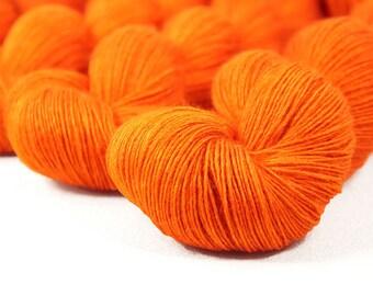 "Transformer Single Ply Fingering ""Icarus"" 70/30 SW Merino/Silk Hand-Dyed Sock Yarn 435yds"