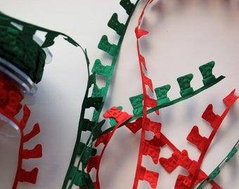 Christmas Sockings Satin Cutouts - Christmas Garland