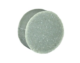 CAMBRIAN BLUE CLAY- 4 oz Round Handcrafted Cold Process Soap