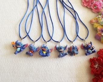 10 Stitch Necklaces Party Favors