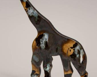 Clay Sculpture Etsy - Sporting clay window decalsgiraffe garden statue giraffe clay pot clay pot animal