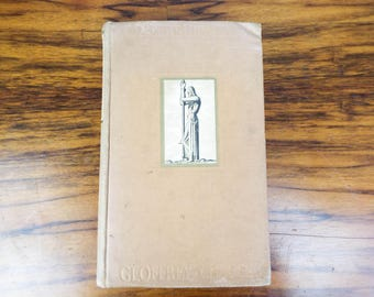 Vintage 1934 Canterbury Tales by Geoffrey Chaucer Illustrated by Rockwell Kent