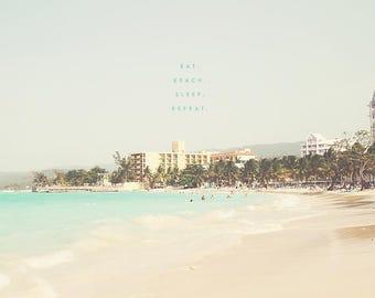 Ocho Rios Beach, Jamaica Photography, Jamaica Photo, Jamaica Wall Art, Jamaica Art, Ocho Rios Jamaica, Caribbean Photo, Beach Photography