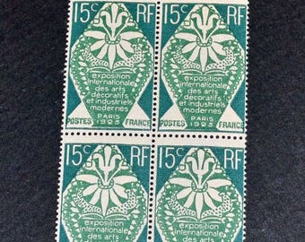 France 1 block of 4 Mint MNH
