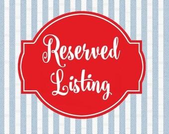Reserved Listing for Elvira