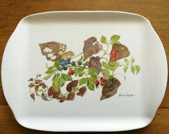Tray, Autumn Print - Afternoon Tea - 25cm x 35cm  (13.5 x 10.25 inches)