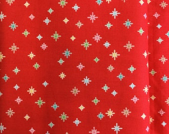 Riley Blake Cozy Christmas C5635 In Red by the half metre