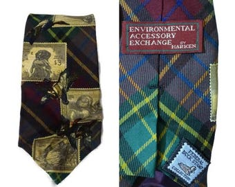 Environmental Accessory Exchange Harken Federal Duck Stamp Collection Silk Tie Necktie